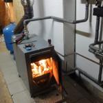 Отопление дома твердотопливное